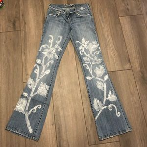 Embroidered Jeans by Switch USA